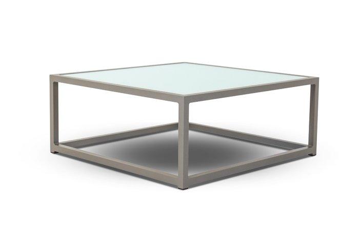 Кофейный столик Касабланка серо-коричневого цвета
