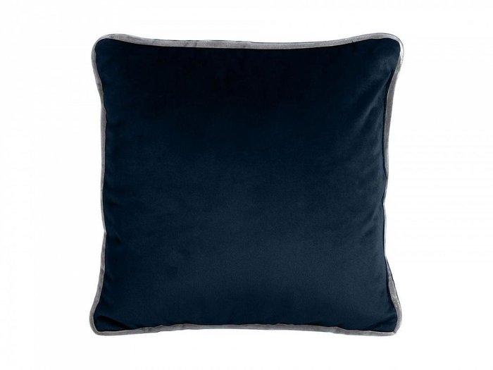 Подушка декоративная Boxy темно-синего цвета