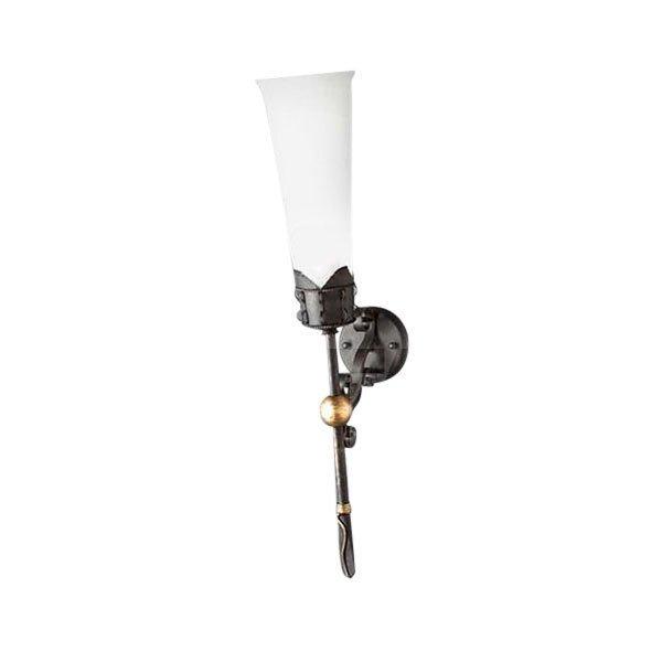 Настенный светильник MM Lampadari с плафоном из стекла
