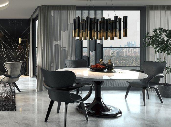 Стол обеденный Apriori T со столешницей цвета орех