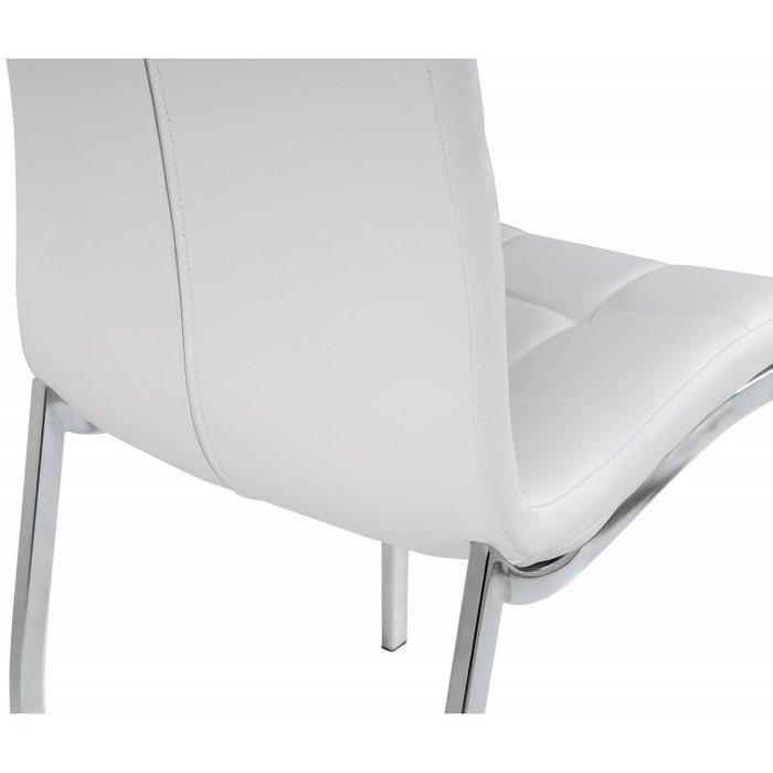 Обеденный стул Optical белого цвета
