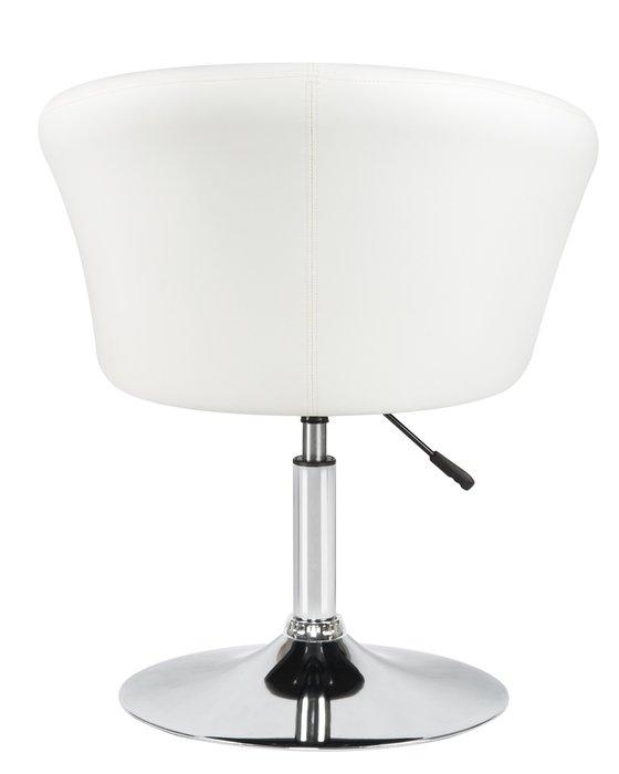 Кресло дизайнерское Edison белого цвета