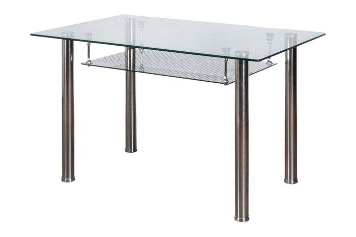 Обеденный стол Dario со стеклянной столешницей