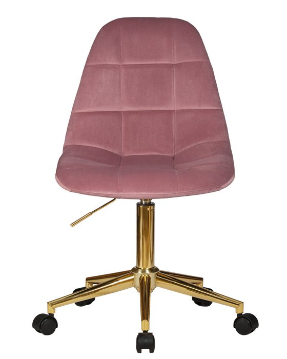Офисное кресло для персонала Diana розового цвета