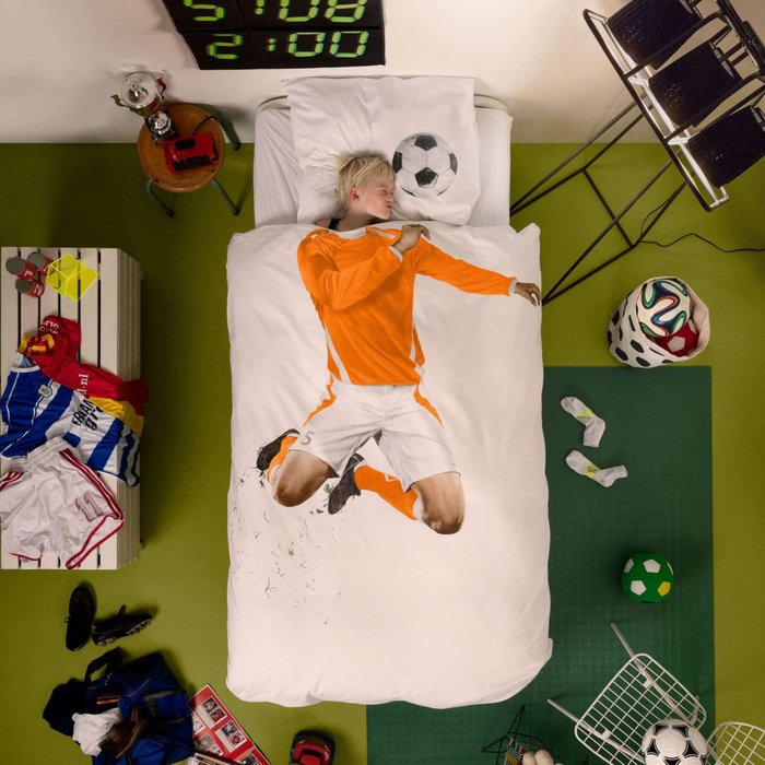 """Комплект постельного белья """"Футболист"""""""