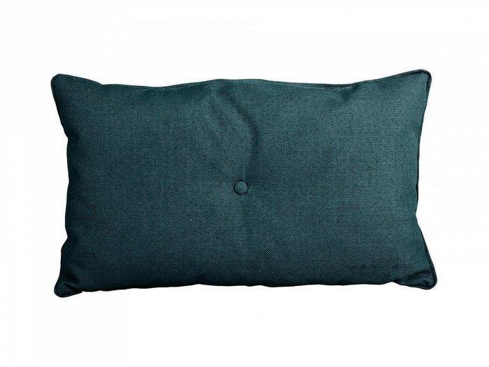 Декоративная подушка Pretty сине-зеленого цвета