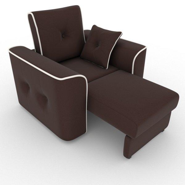 Кресло-кровать Navrik коричневого цвета
