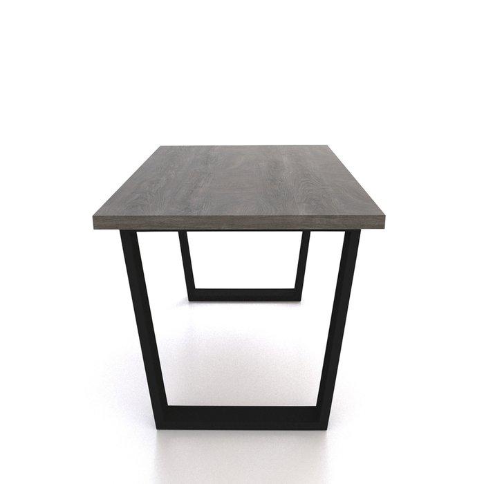 Стол Фостер М темно-коричневого цвета