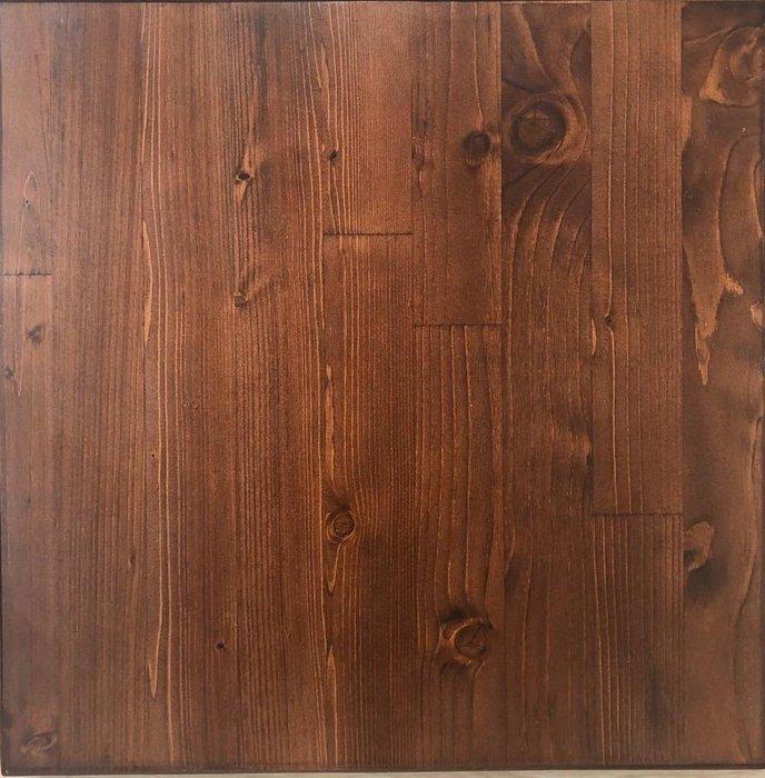 Стол письменный Бервин с коричневой столешницей