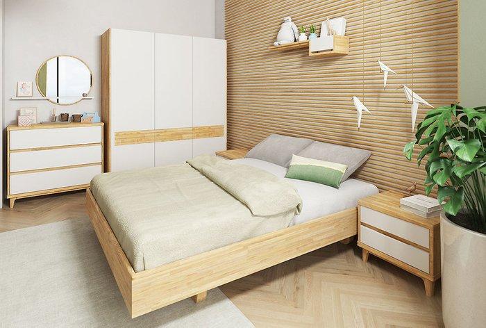 Кровать Wallstreet 180х200 светло-коричневого цвета