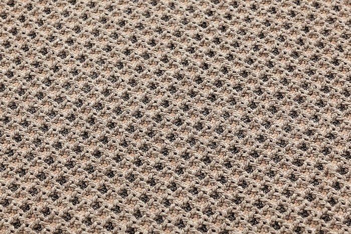 Подушка рол Gan Gofre terracotta терракотового цвета