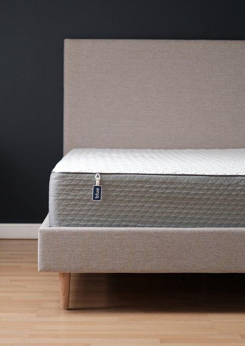 Кровать Beige с изголовьем бежевого цвета 160х200