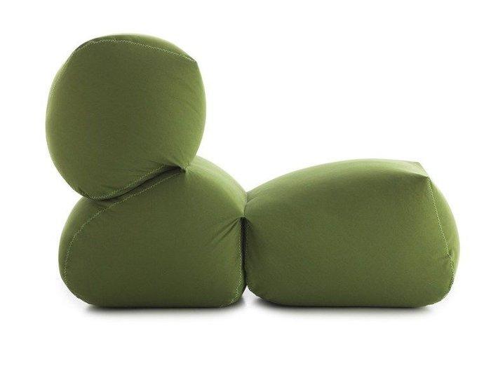 Пуф Grapy зеленого цвета