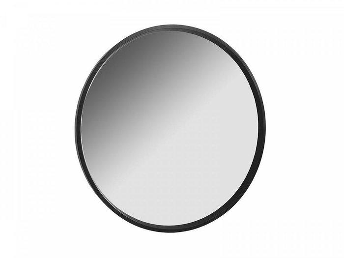 Настенное зеркало Focus в раме черного цвета