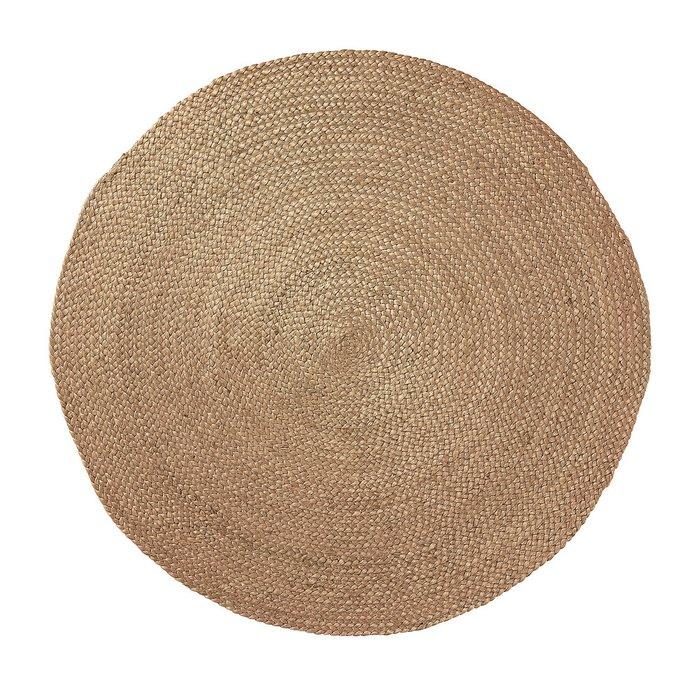 Круглый Ковер Julia Grup Dip из джута диаметр 100 см
