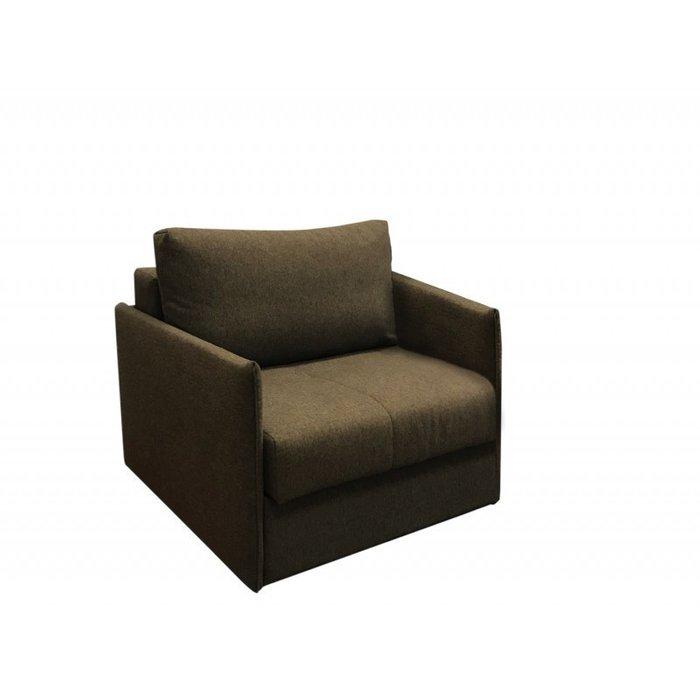 Кресло-кровать Бремен коричневого цвета