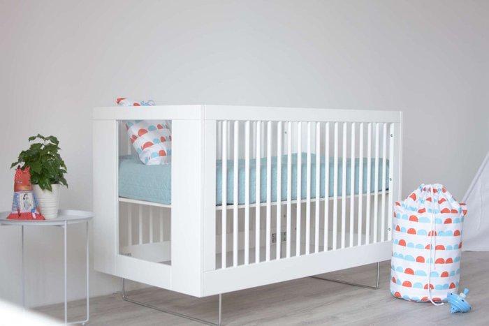 Кроватка Alto Clear Acrylic белого цвета