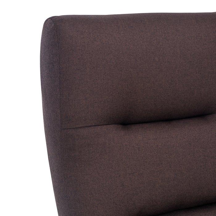 Кресло Монэ коричневого цвета