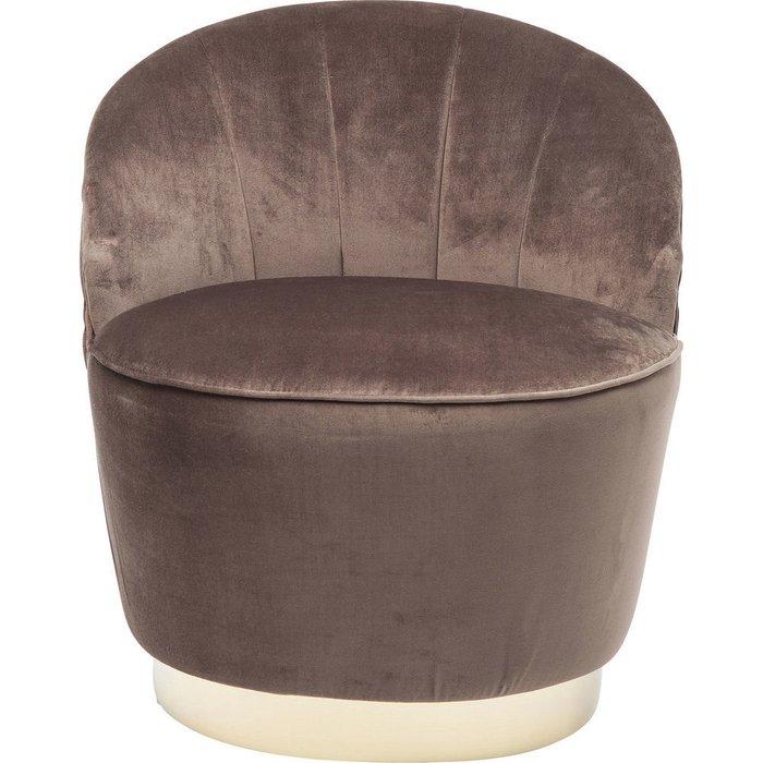 Кресло Cherry коричневого цвета