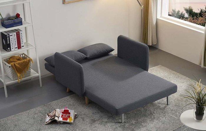 Диван-кровать Cardiff темно-серого цвета
