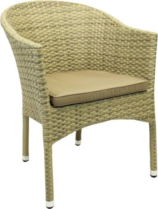 Кресло садовое Lugano цвета слоновой кости