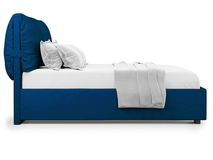 Кровать Trazimeno 180х200 синего цвета