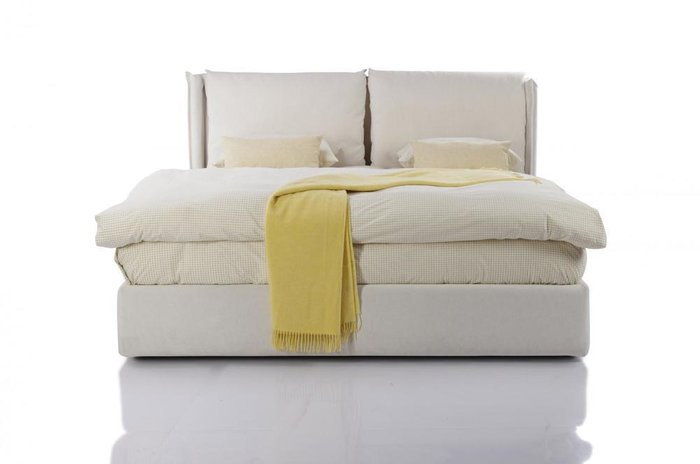 Кровать Avenue 180х200 белого цвета