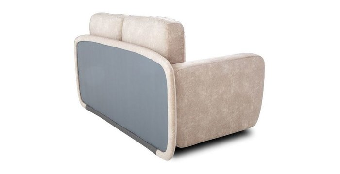 Кушетка-кровать Альта бежевого цвета