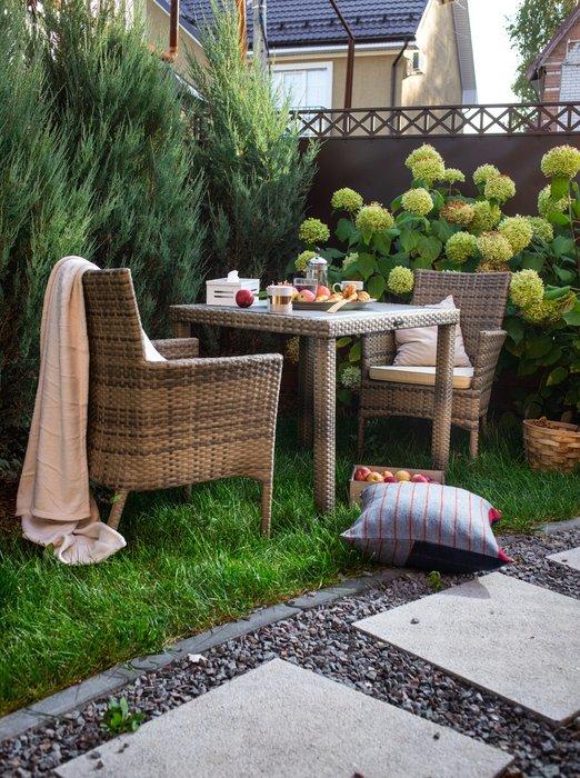 Стол садовый Panama цвета слоновой кости