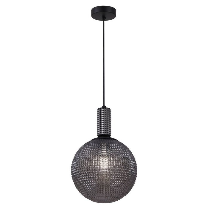 Подвесной светильник Milagro с плафоном серого цвета