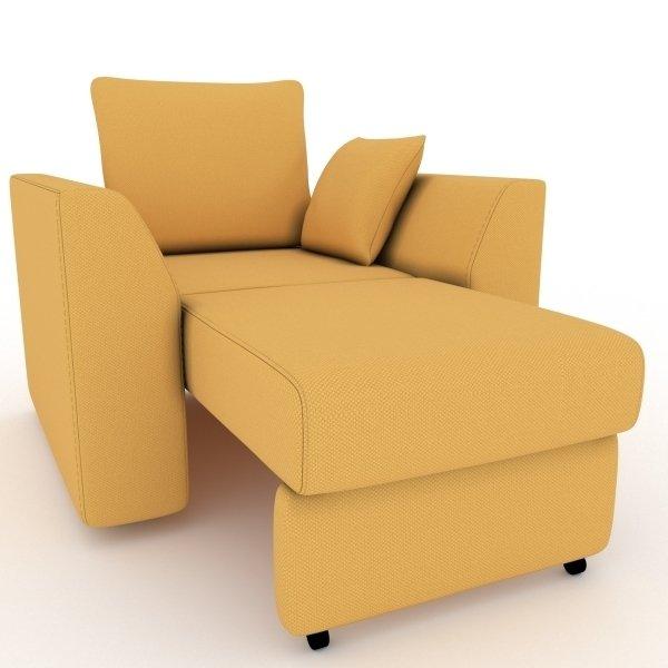 Кресло-кровать Belfest желтого цвета