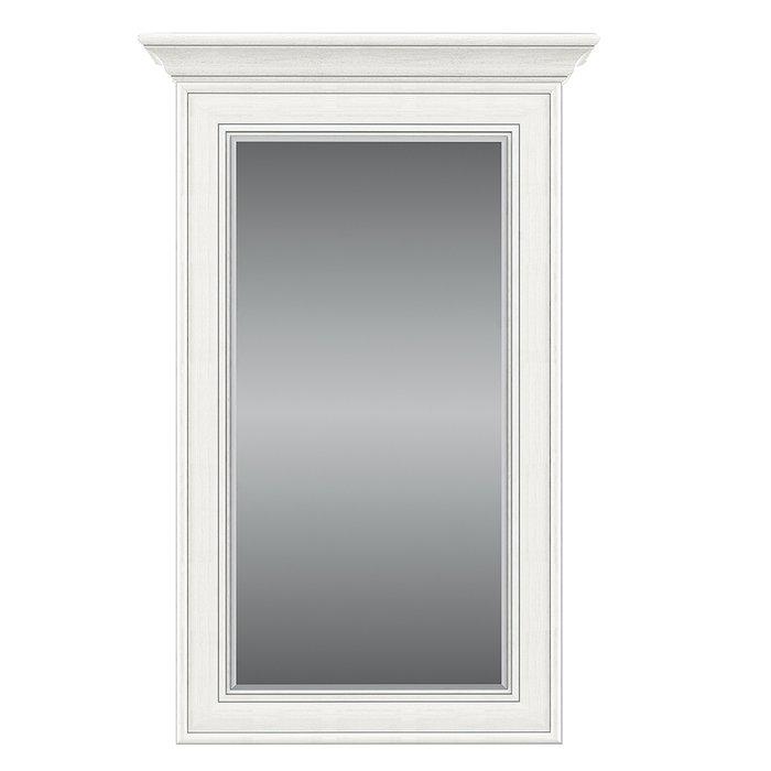 Настенное зеркало Tiffany кремового цвета