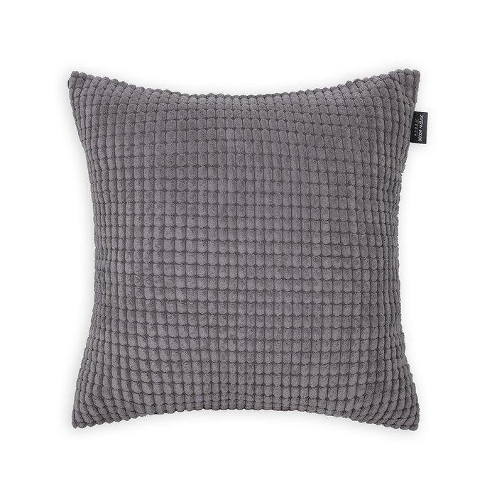 Декоративная подушка Civic Stone серого цвета