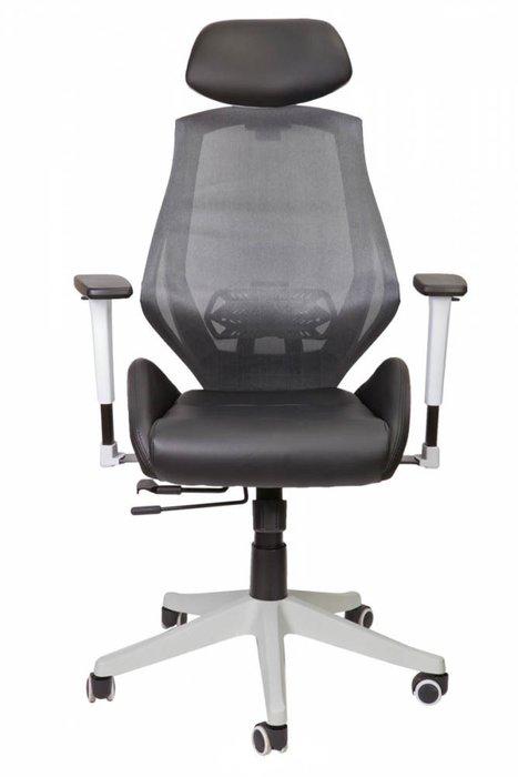 Кресло компьютерное Spase черно-серого цвета