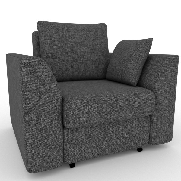 Кресло-кровать Belfest серого цвета