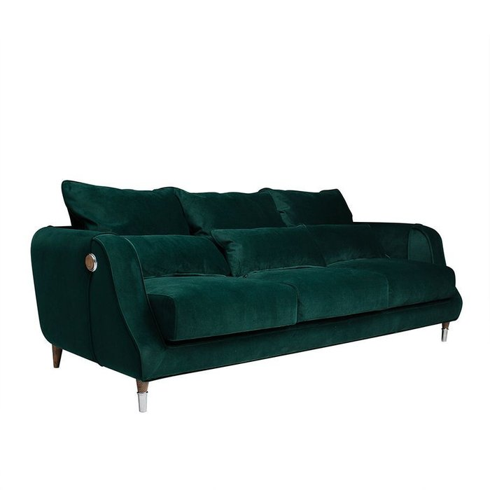 Диван Dante Plain зеленого цвета
