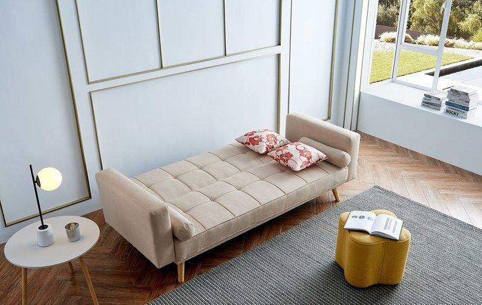 Диван-кровать Scandinavia бежевого цвета