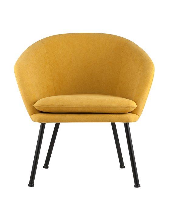 Кресло Декстер желтого цвета