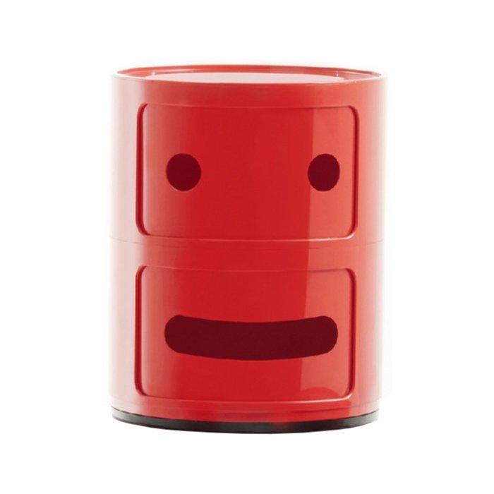Тумба Componibili Smile красного увета