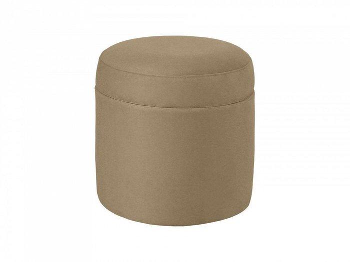 Пуф Barrel бежево-коричневого цвета