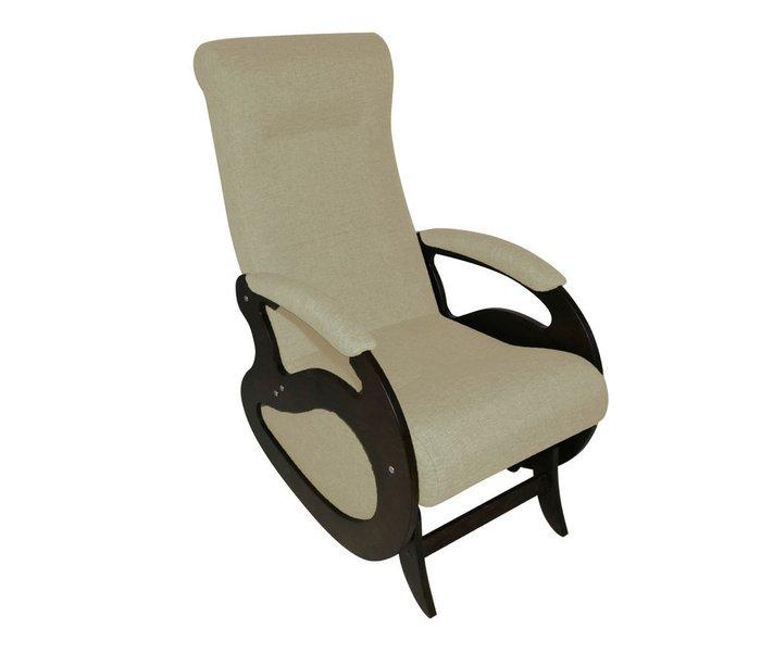Кресло-качалка Маятник бежевого цвета