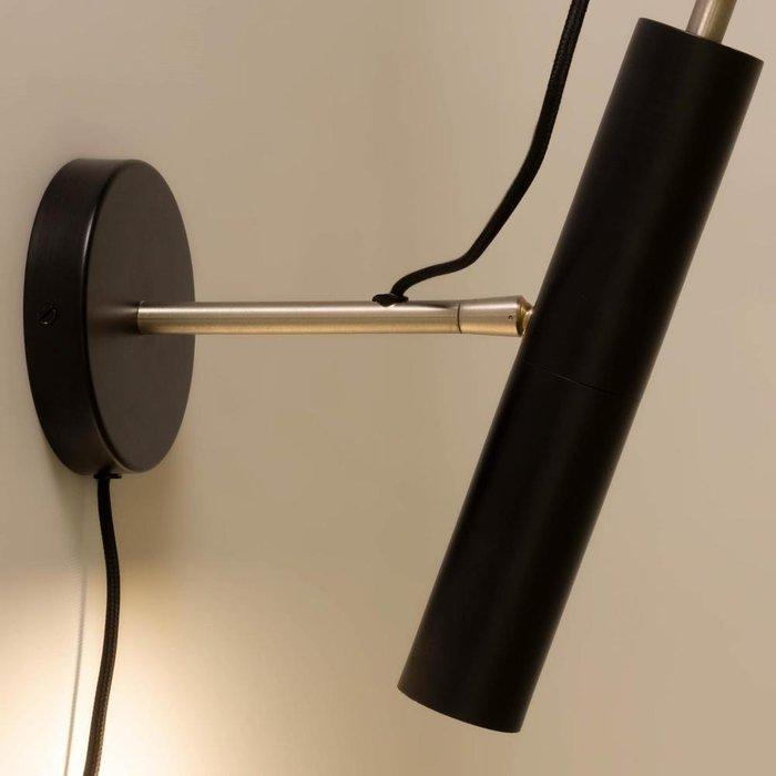 Настенный светильник Maude черного цвета