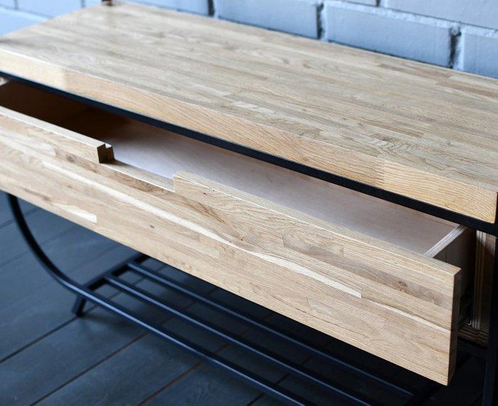 Вешалка Oak Shelf с выдвижным ящиком