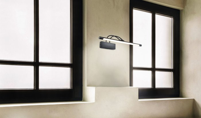 Подсветка для зеркал Finelli черного цвета