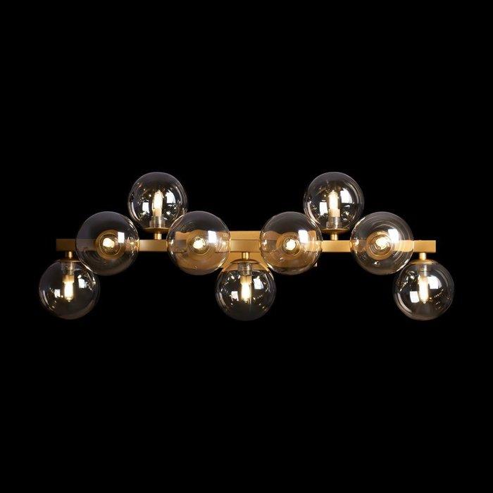 Бра настенное Dallas М цвета матового золота
