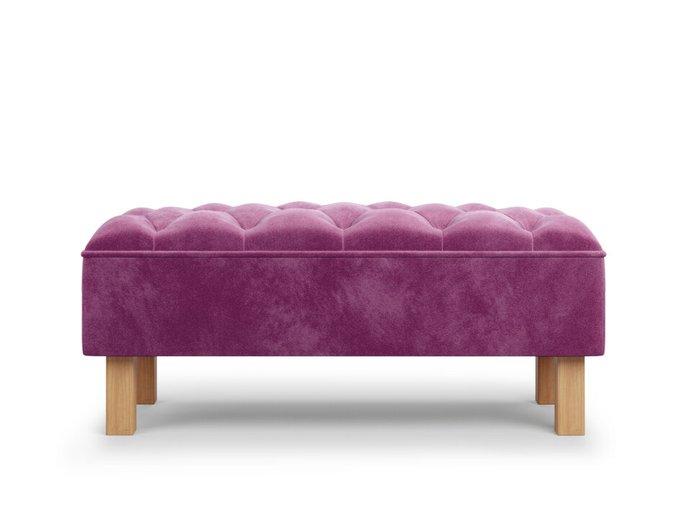 Банкетка Agat пурпурного цвета