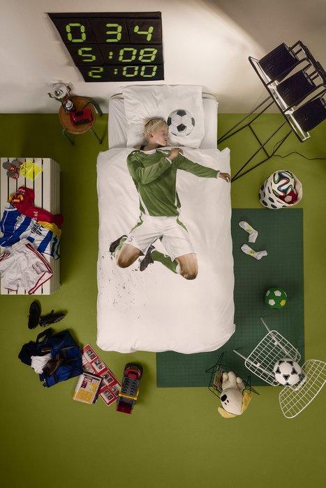 """Комплект постельного белья """"Футболист"""" 200х220"""