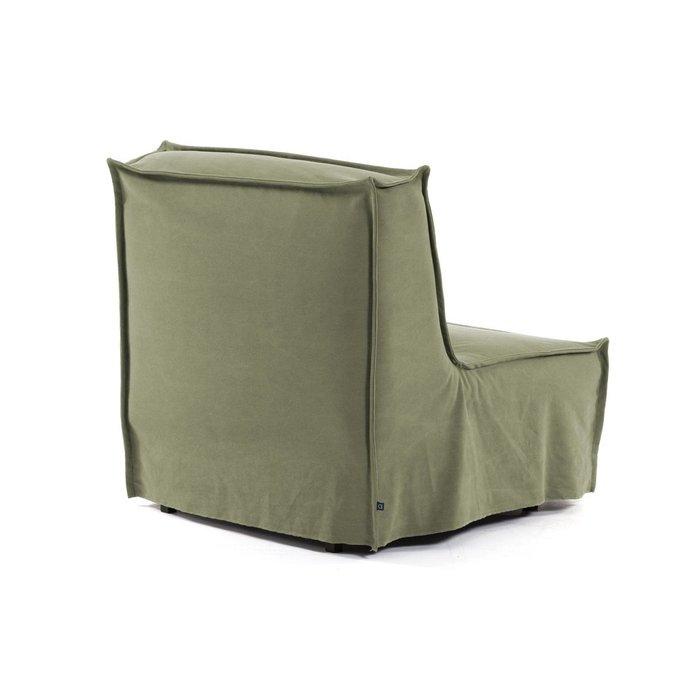 Кресло-кровать Lyanna зеленого цвета
