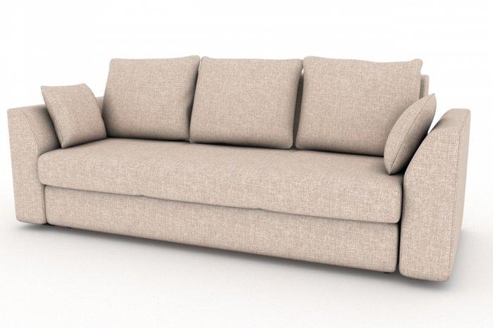 Прямой диван-кровать Belfest бежевого цвета
