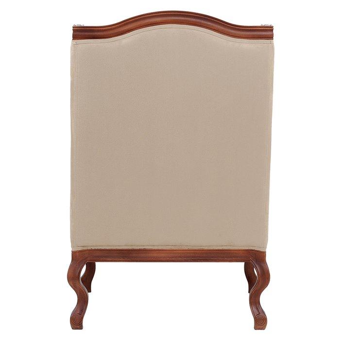 Кресло French бежевого цвета